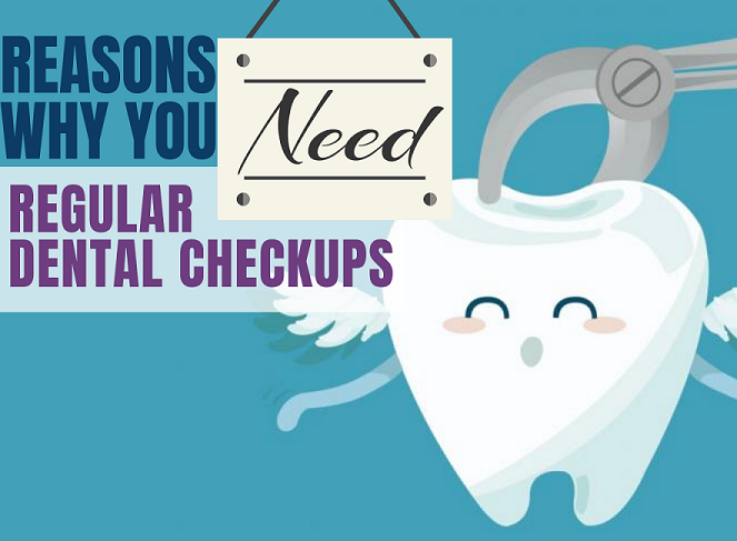 Picture showing Reasons why you need dental checkups
