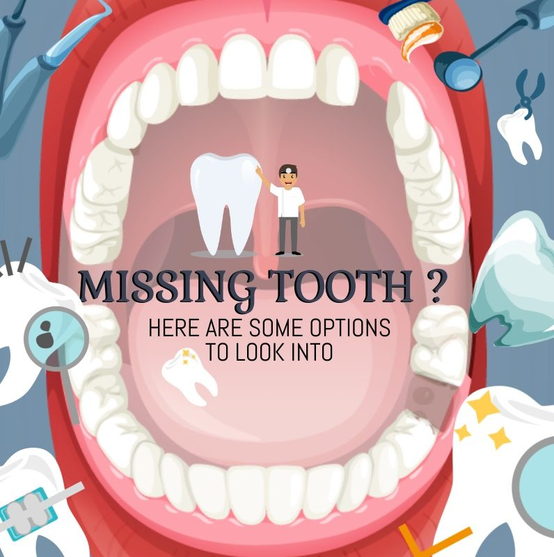 Missing Tooth? Here Are Some Cosmetic Dentistry Procedures And Treatments – Infographic